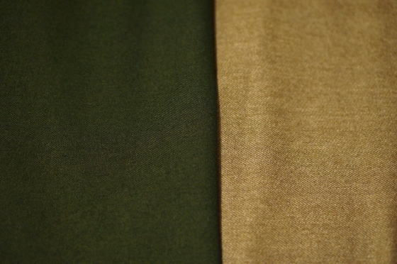 Coat fabrics for my selfless coat sewing