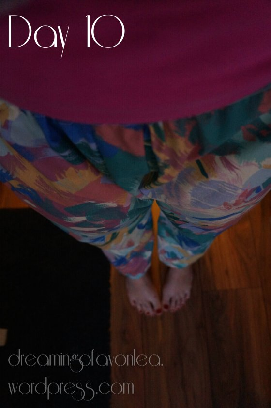 Me Made 'Fresh Prince of Bel Air' PJs - definitely never blogging!