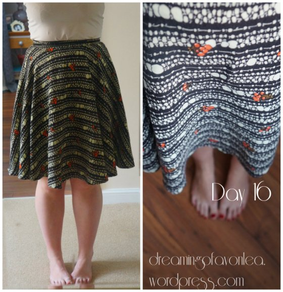 Me Made circle skirt - click to see original blog post