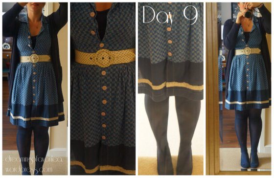 Me Made shirt dress - pre blog