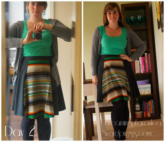 Me Made Skirt - pre blog