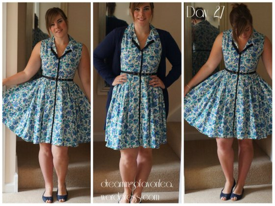Me mad - Mad men challenge dress. Click picture for original blog post