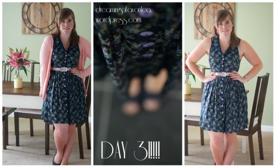 Me made - sleeveless shirt dress, click picture for original blog